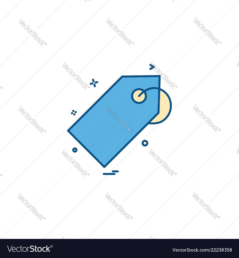 Discount tag icon design