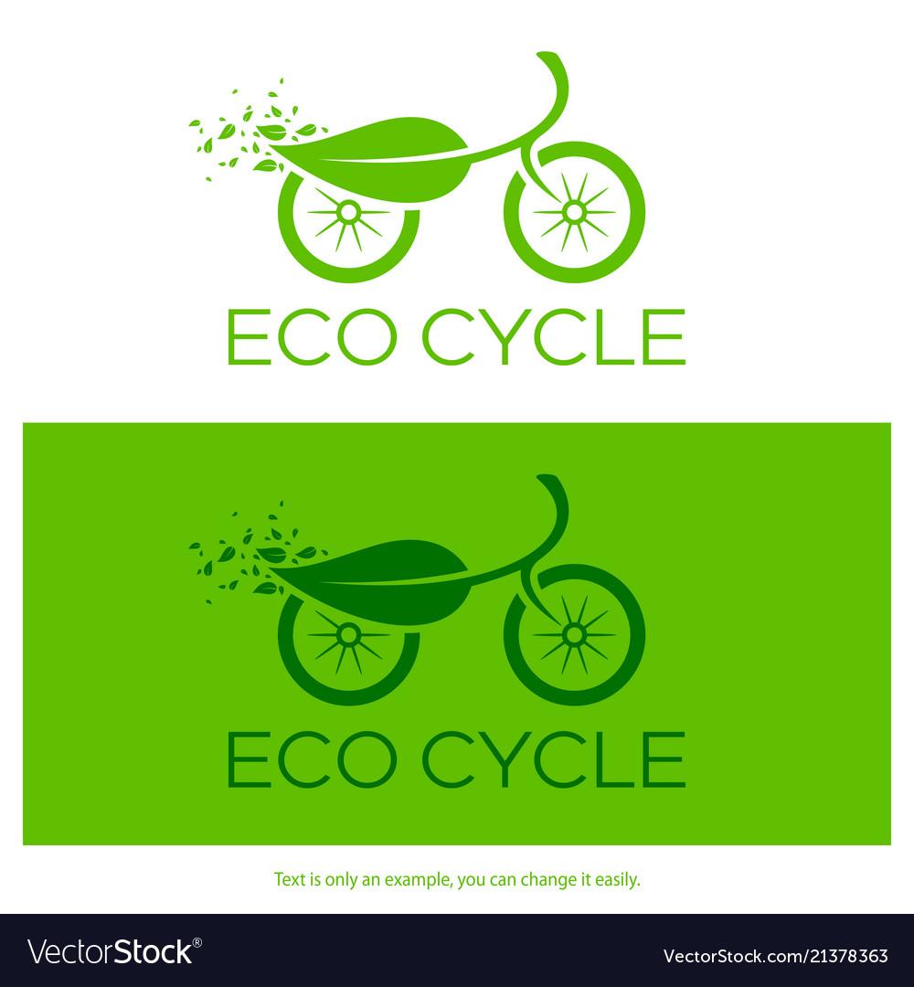 Eco cycle logo
