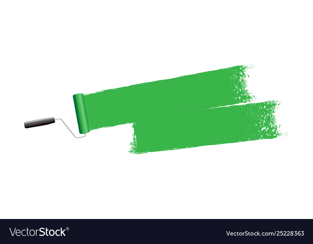 Green paint background