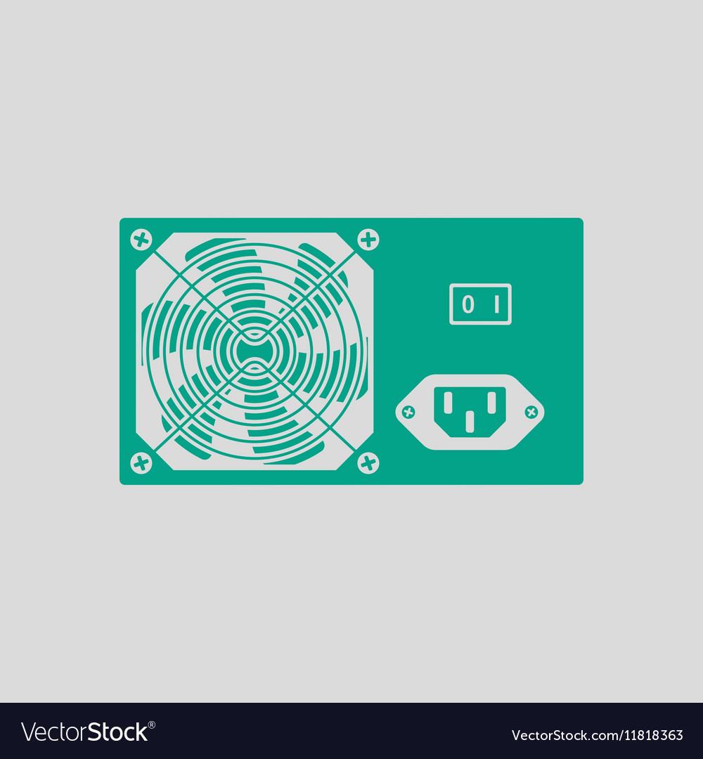 Power unit icon Royalty Free Vector Image - VectorStock