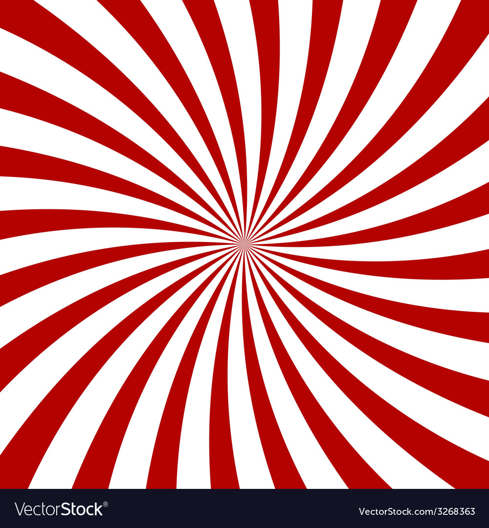 Red Hypnosis Spiral Pattern Optical