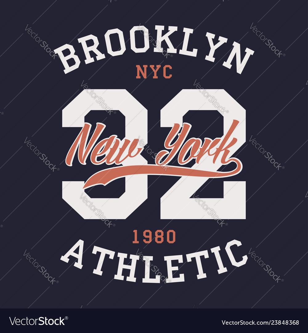 New york brooklyn sports apparel