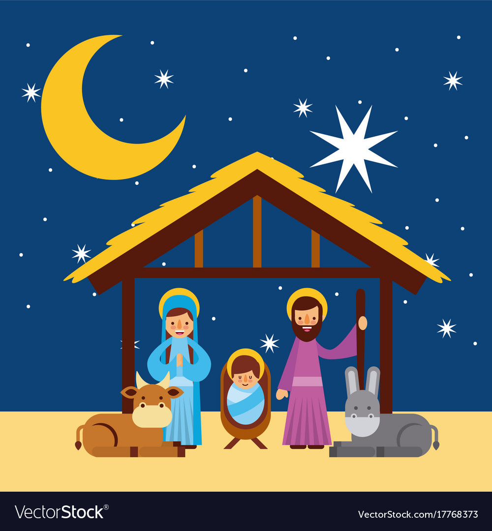 Merry Christmas Family.Merry Christmas Holy Family Traditional Religious