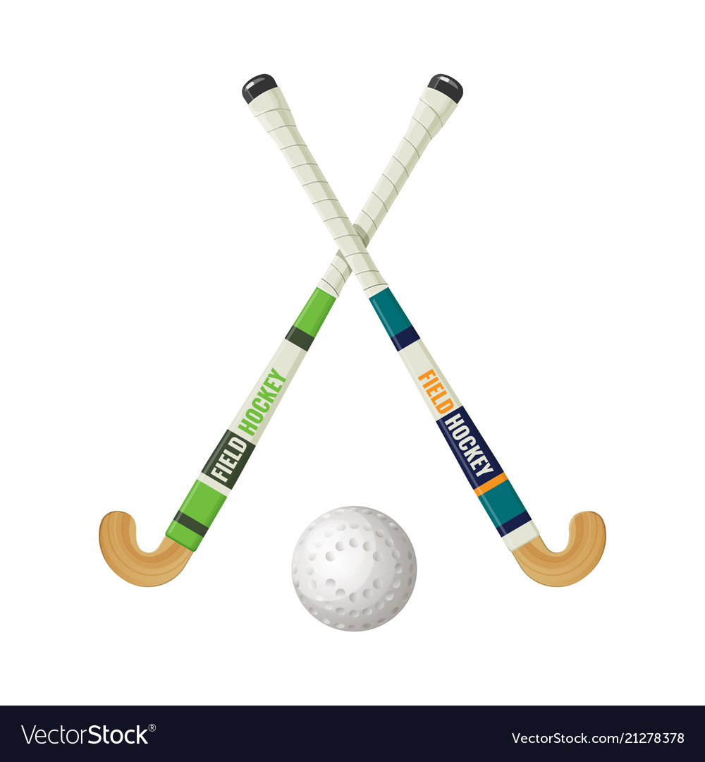 Field hockey equipment and small ball