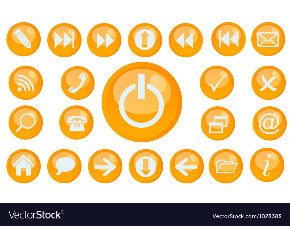 Icon set for web