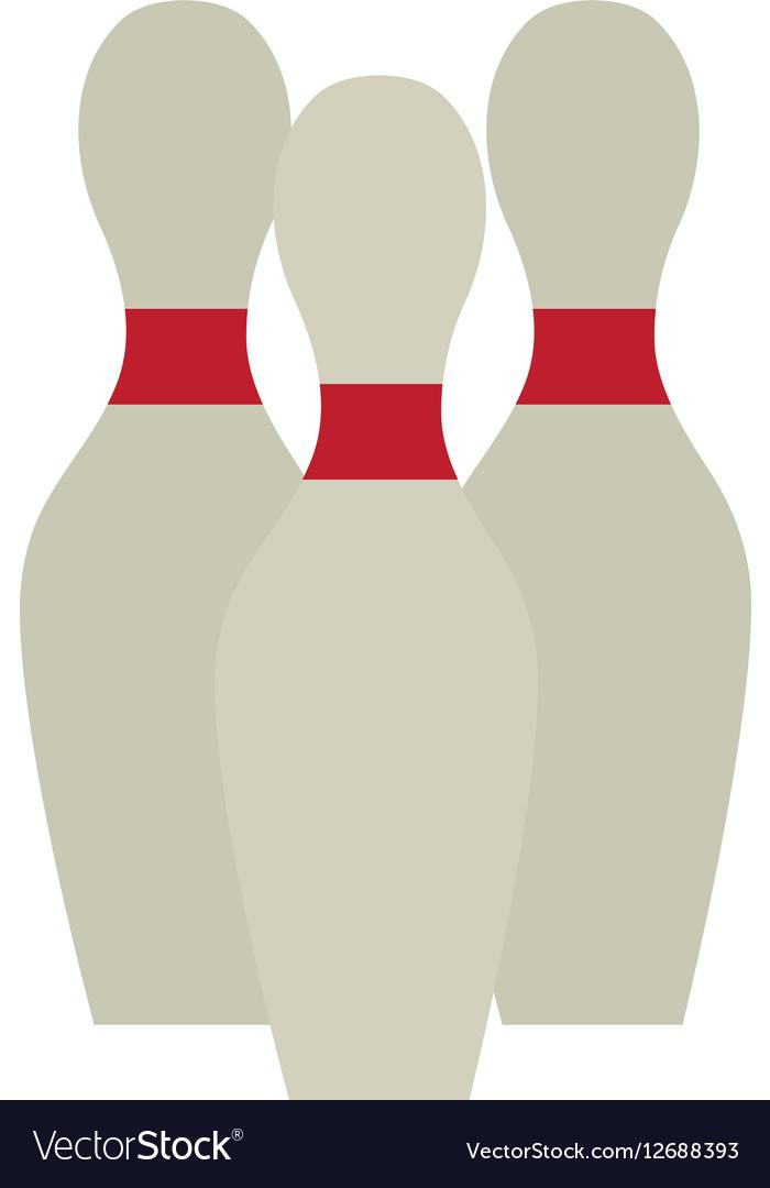 Bowling pin set game design