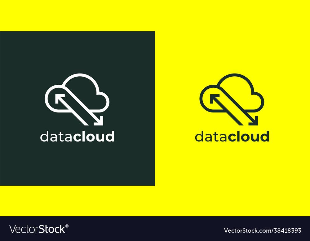 Cloud computing logo icon