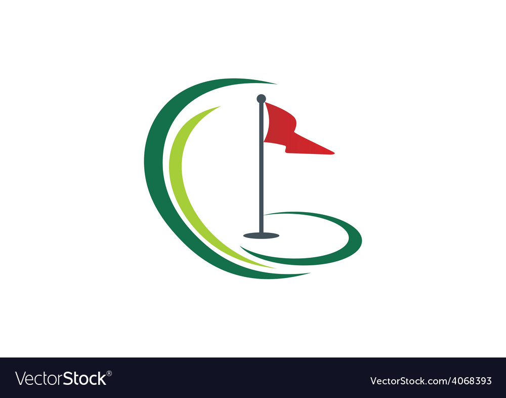 Golf land play tournament logo
