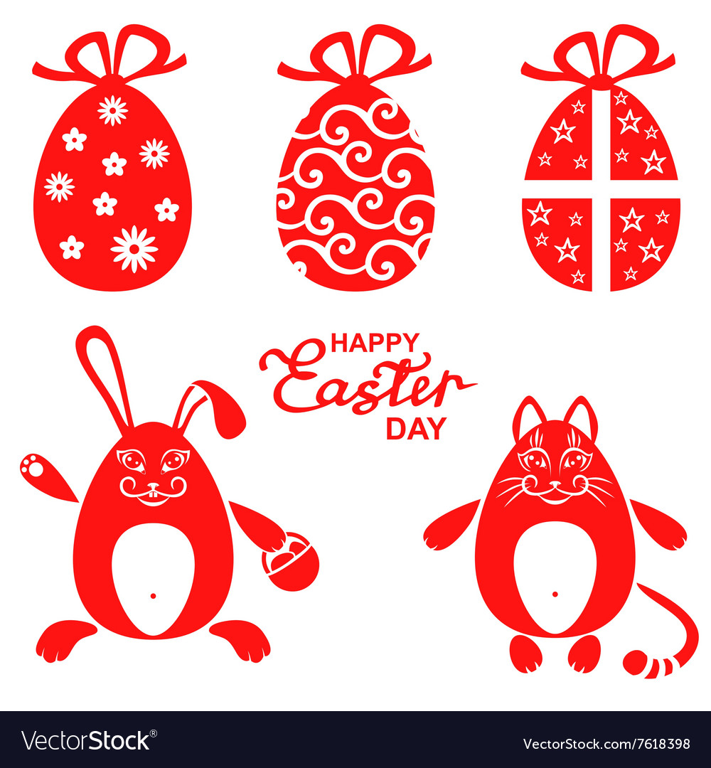 Easter miniset red