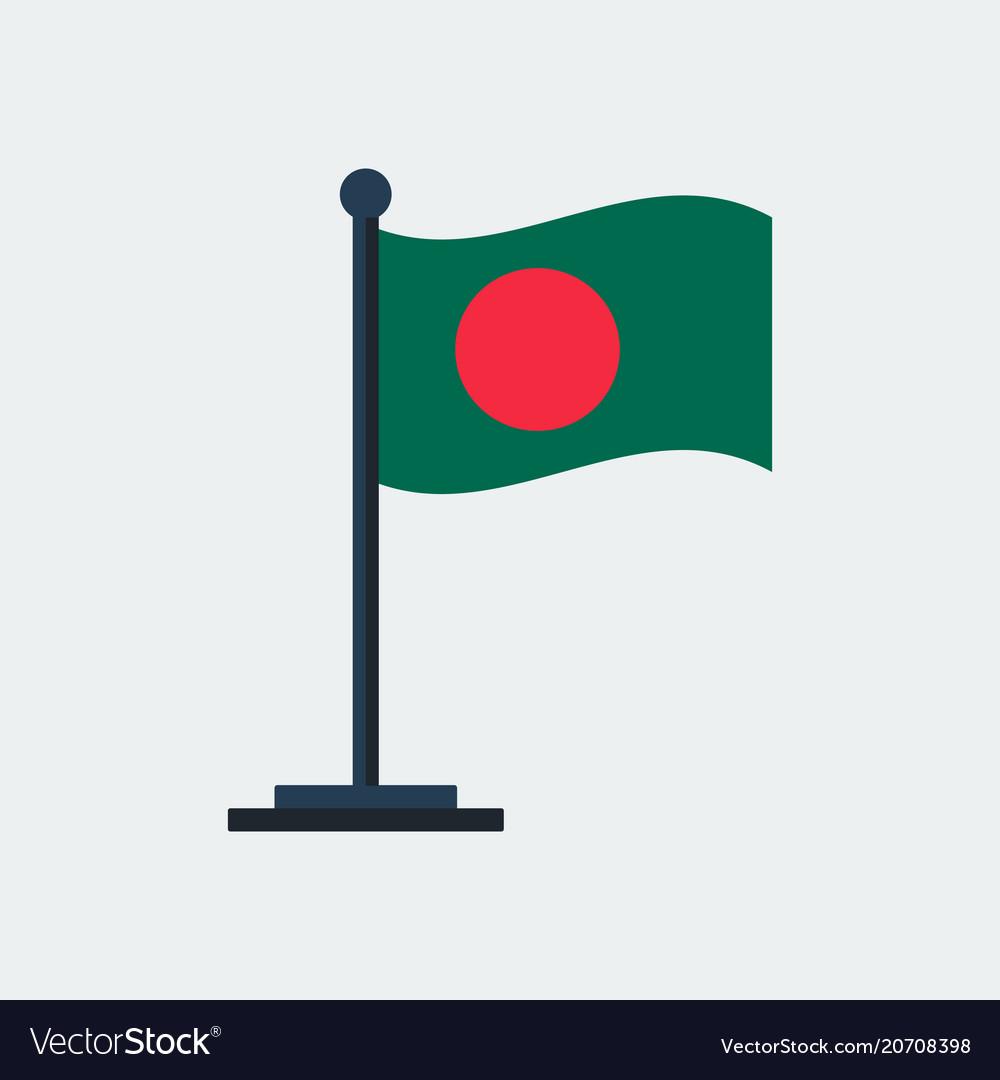 Flag of bangladesh flag stand