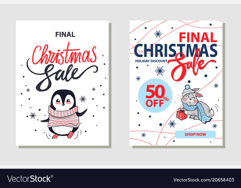 Discount christmas sale on