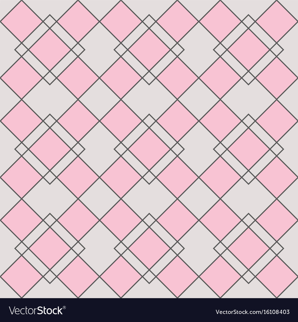 Harlequin geometric seamless patterns