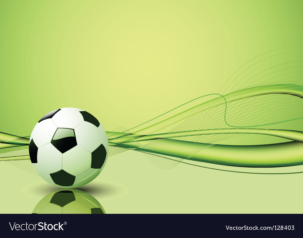soccer ball template royalty free vector image