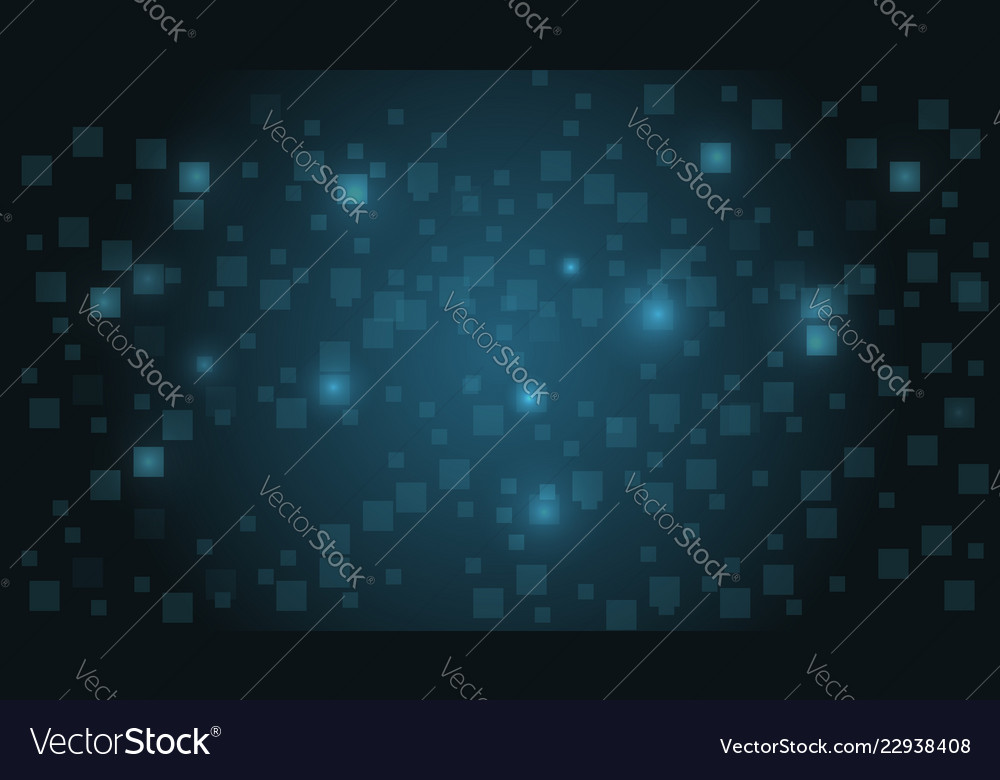 Abstract futuristic technology with blue glowing