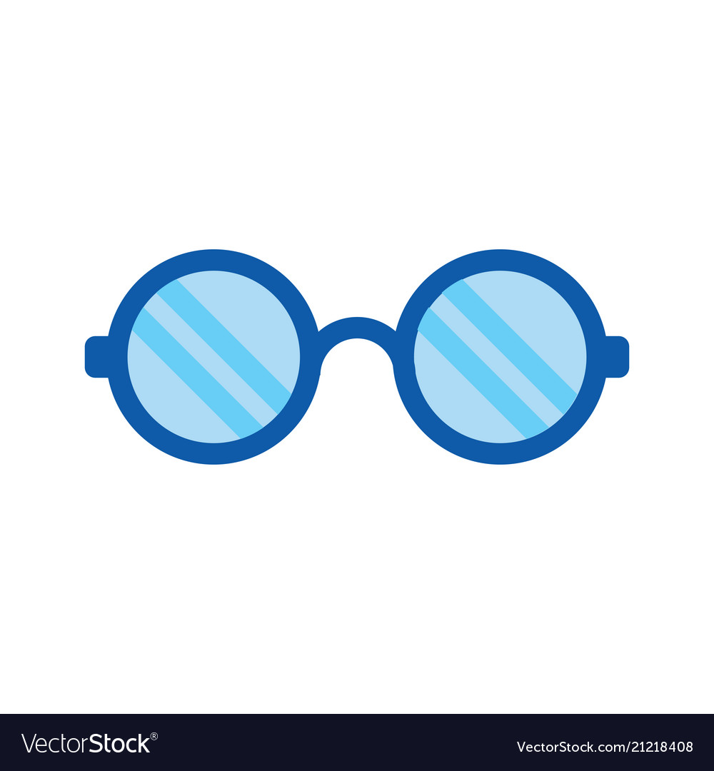 Eye glasses icon - optical fashion glasses