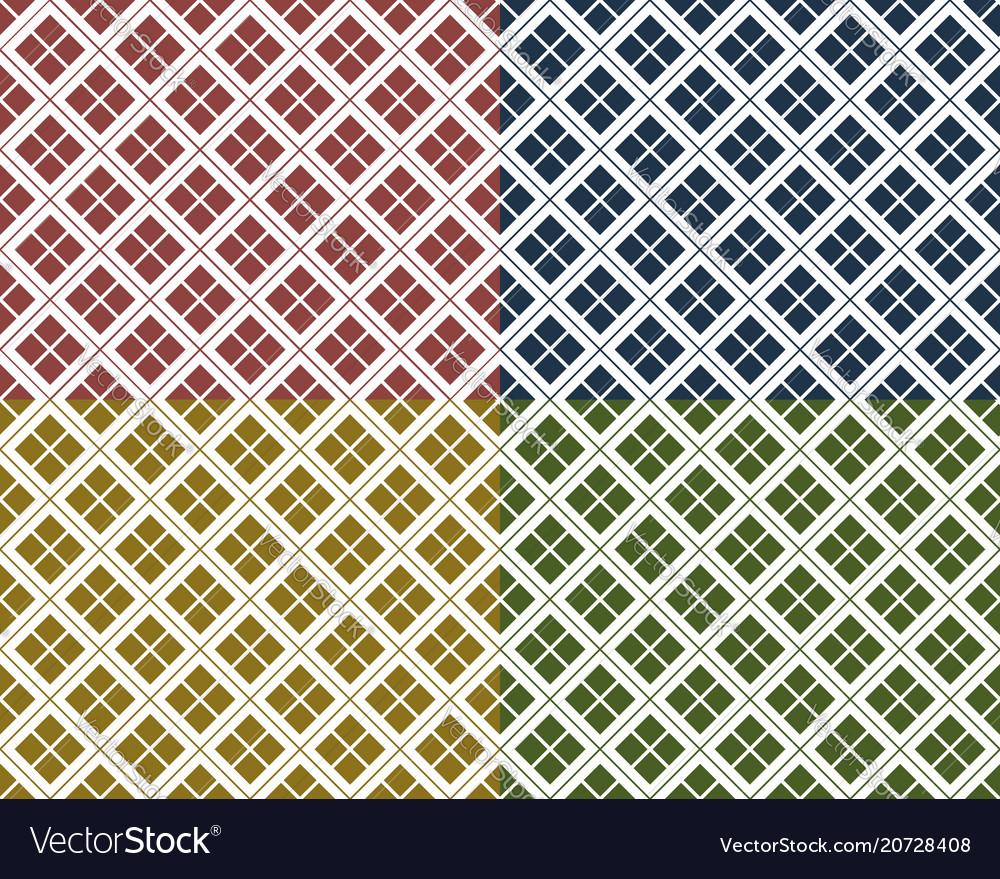 Japanese seamless pattern geometric texture