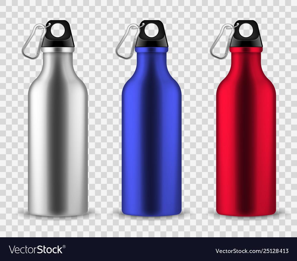 Metal water bottle drinking reusable bottles