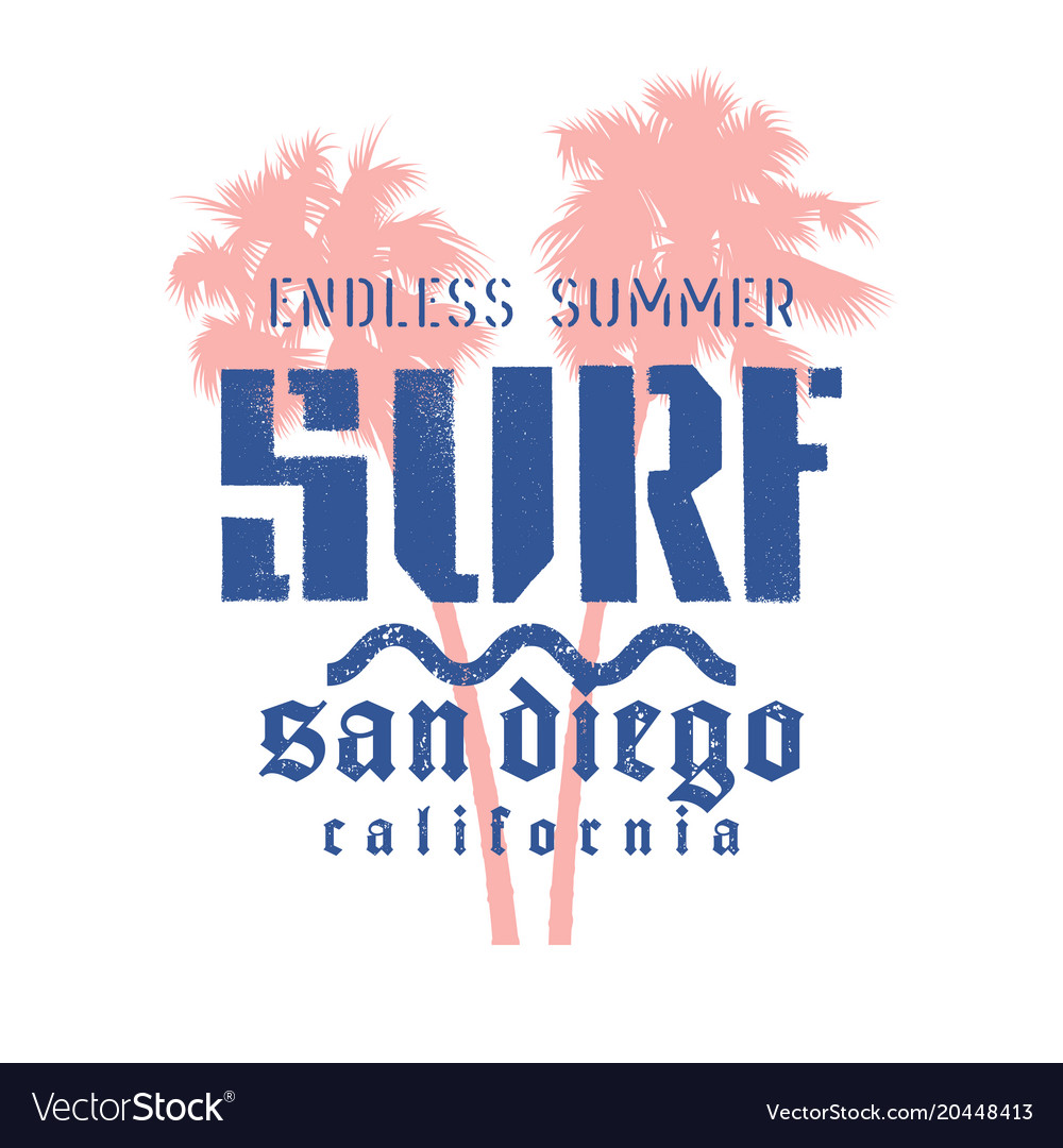 Surfing print 015