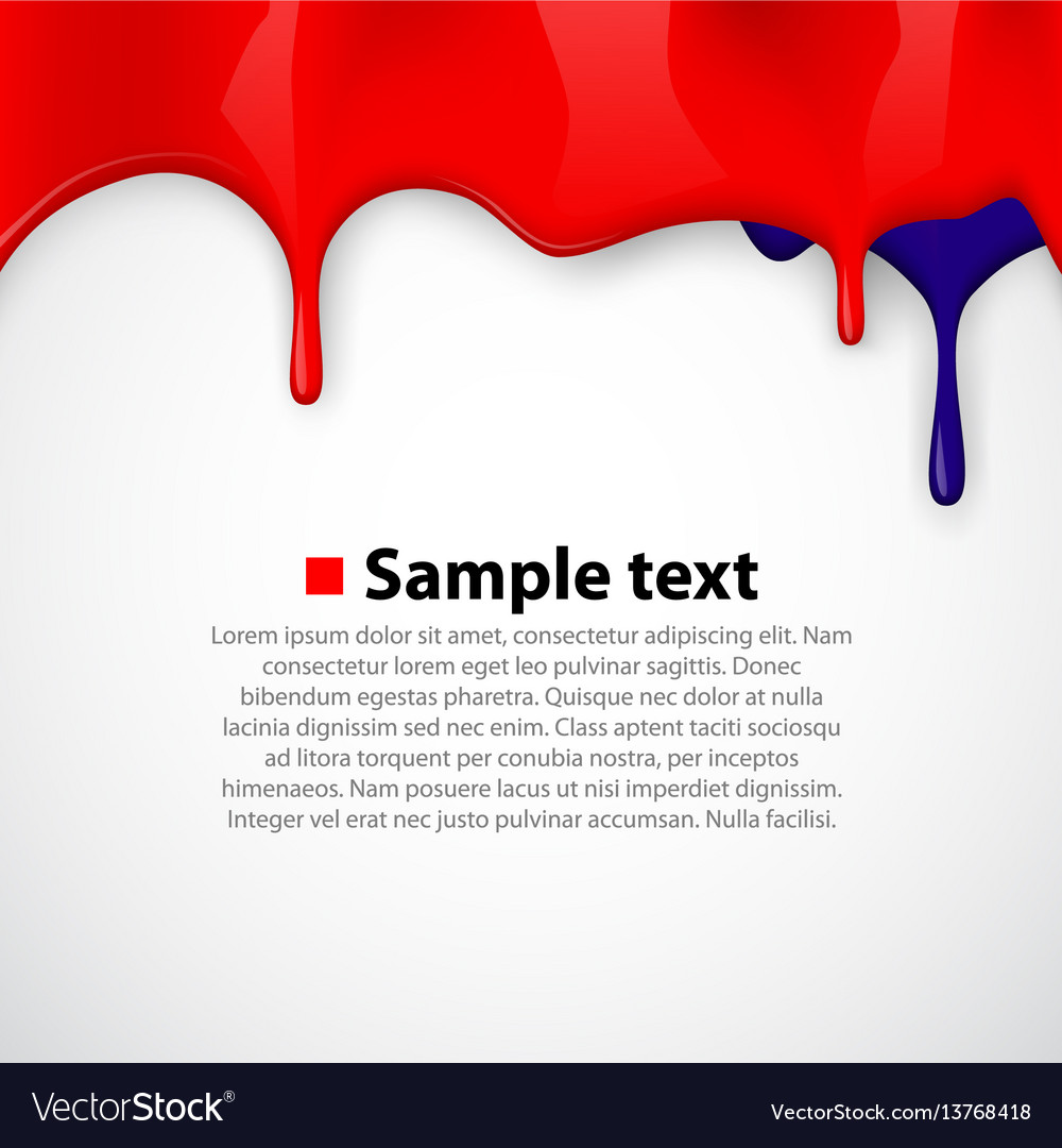 Colorful paint dripping background