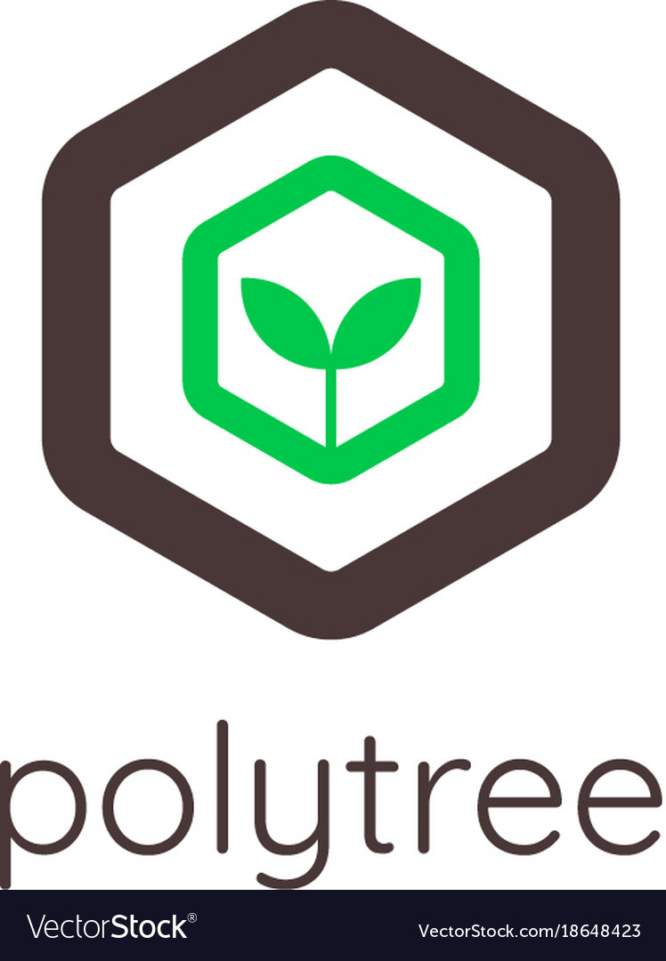 Abstract tree logo icon template eco green