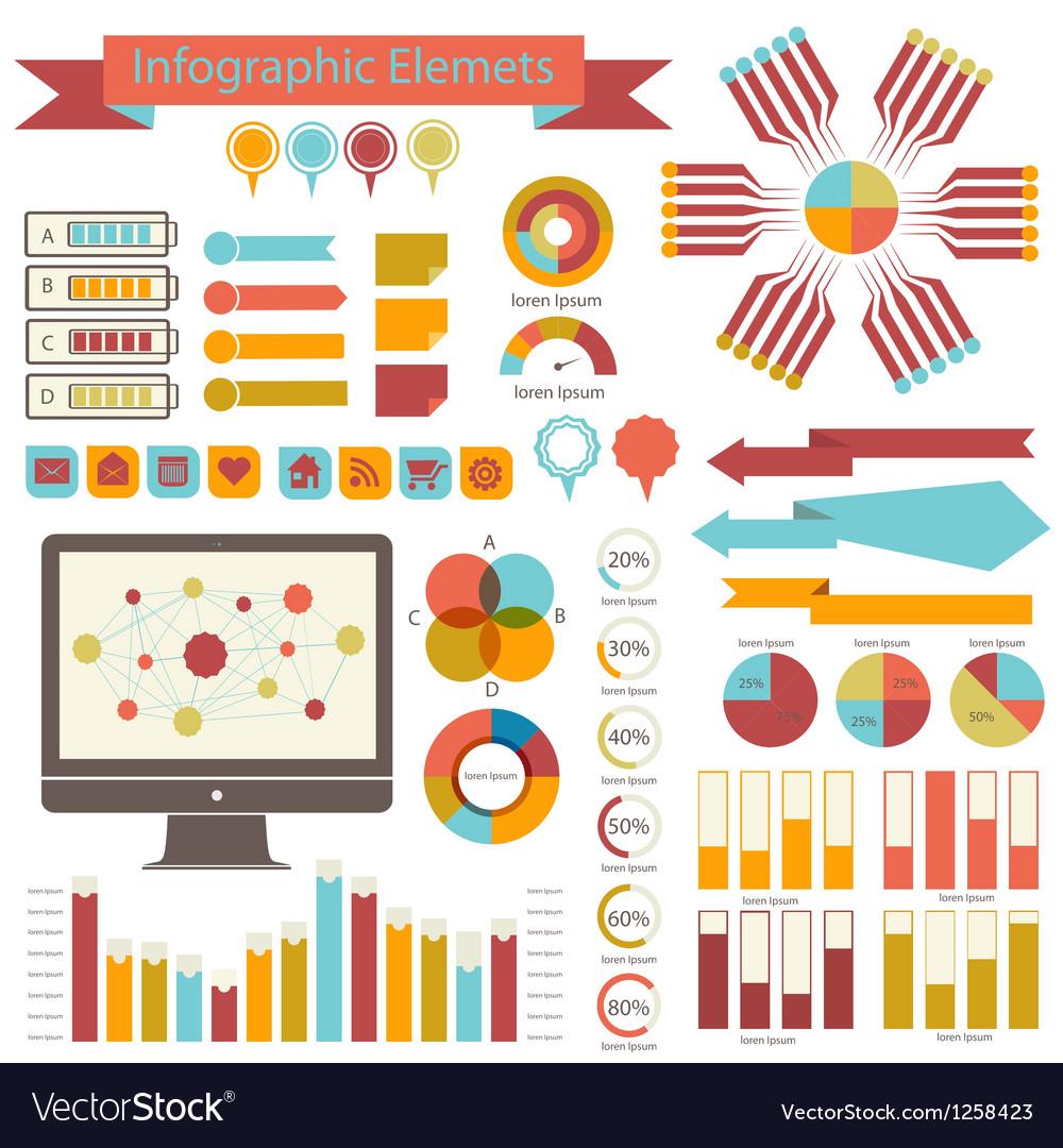 Detail infographics set Information Graphics