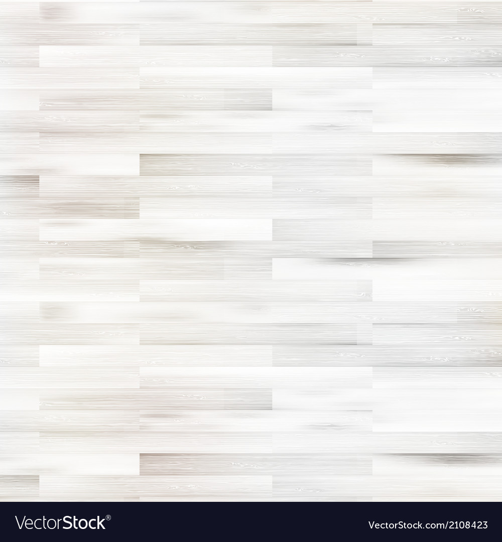 White wooden parquet flooring EPS10 vector image