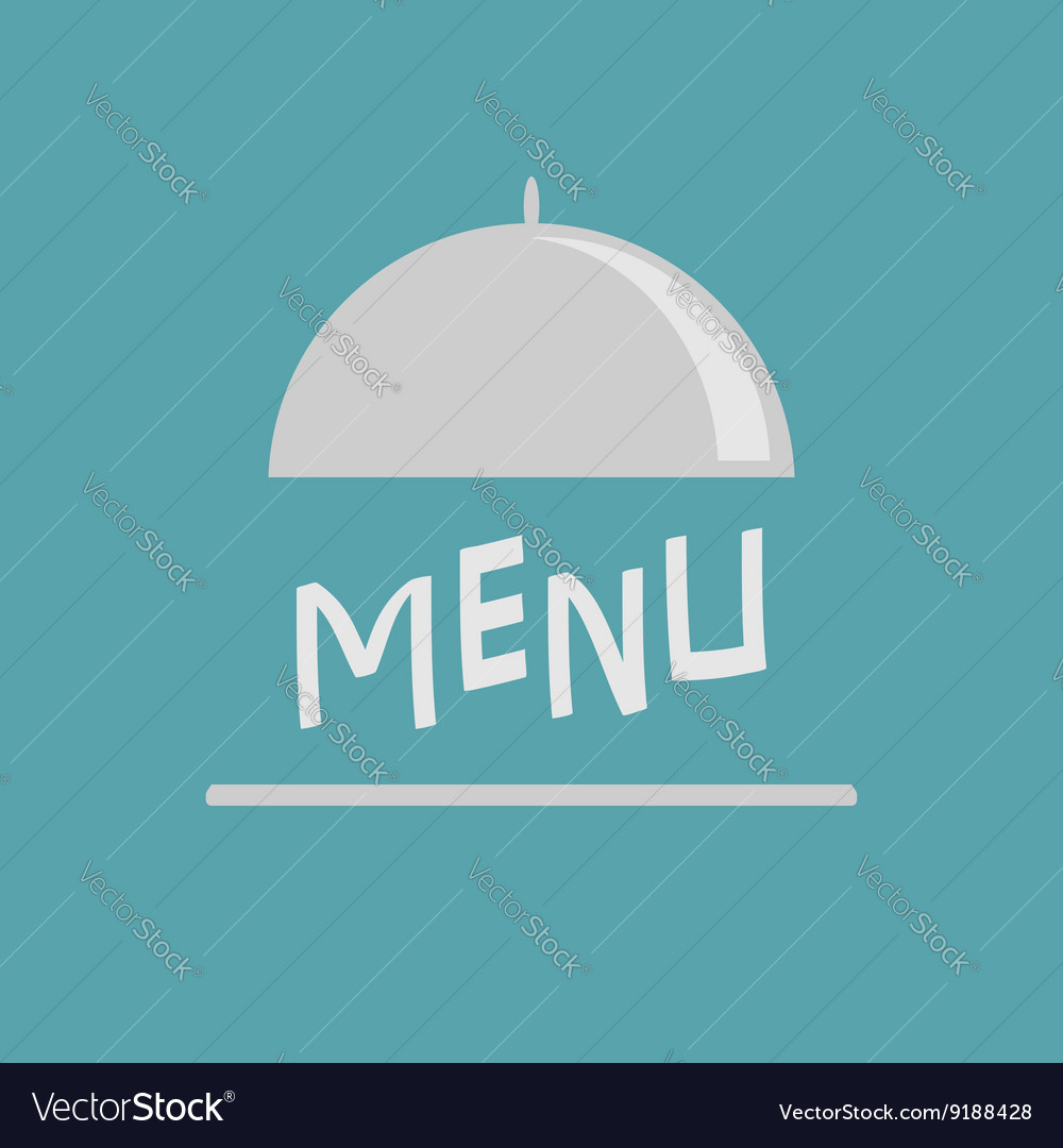 Silver platter cloche Metal restaurant food