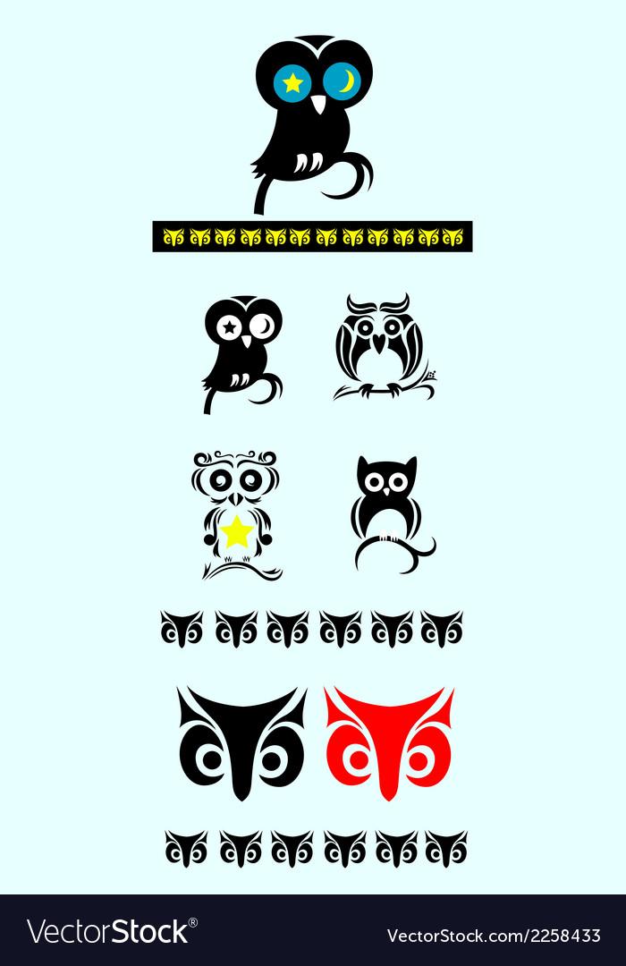 Owl bird ornate decoration