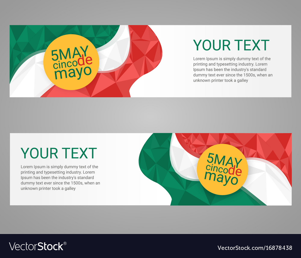 Cinco de mayo poster greeting card mexican holiday