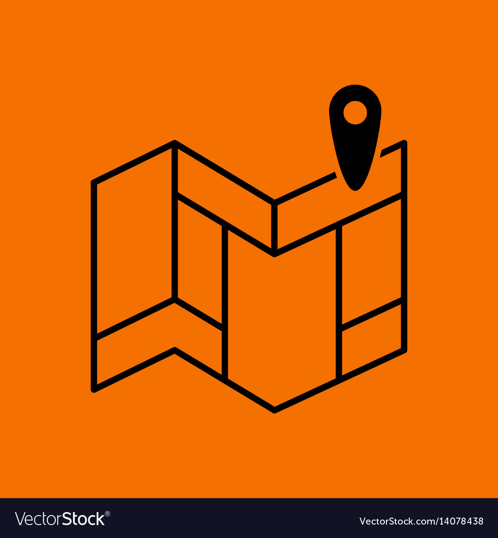 Navigation map icon