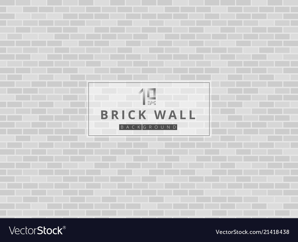 White and gray brick wall background texture