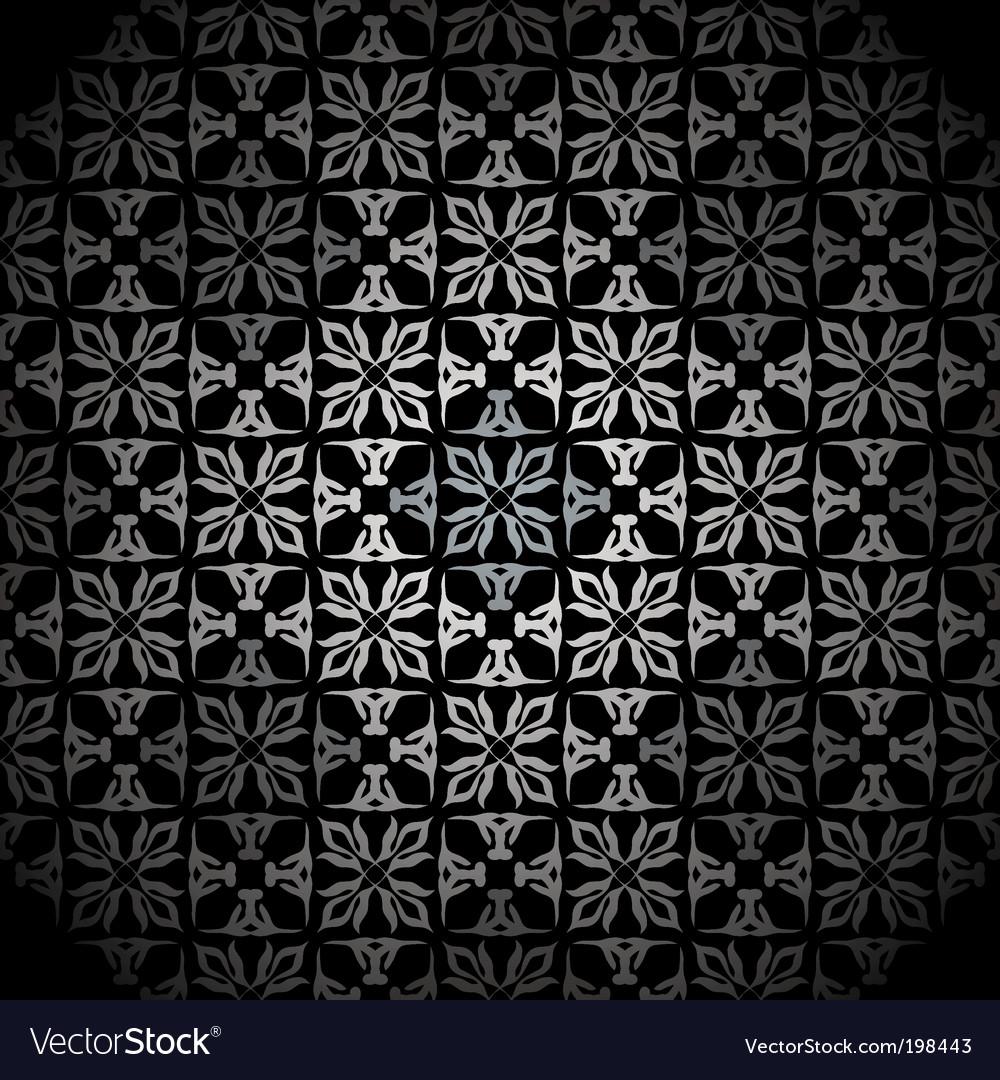 Diamond Silver Wallpaper Vector Image
