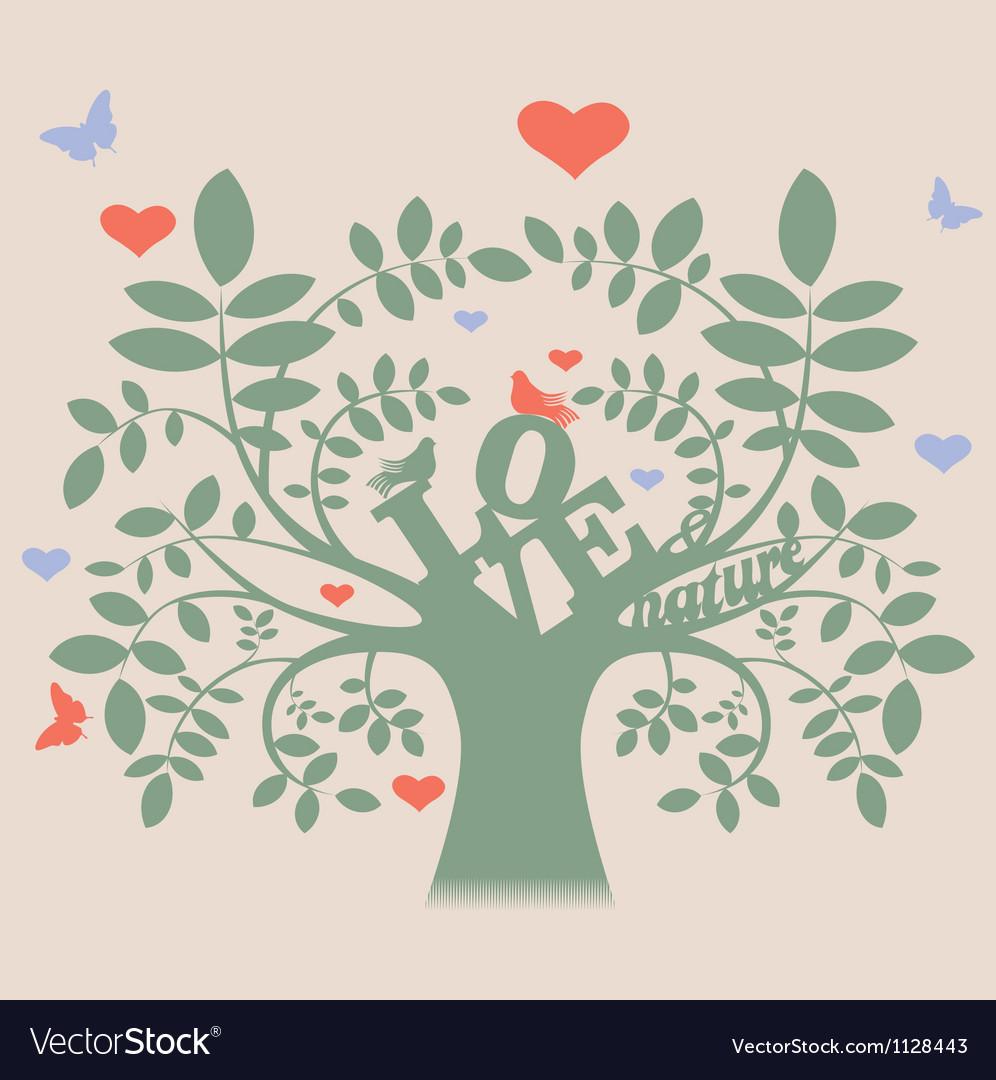 Floral ornamental greeting card