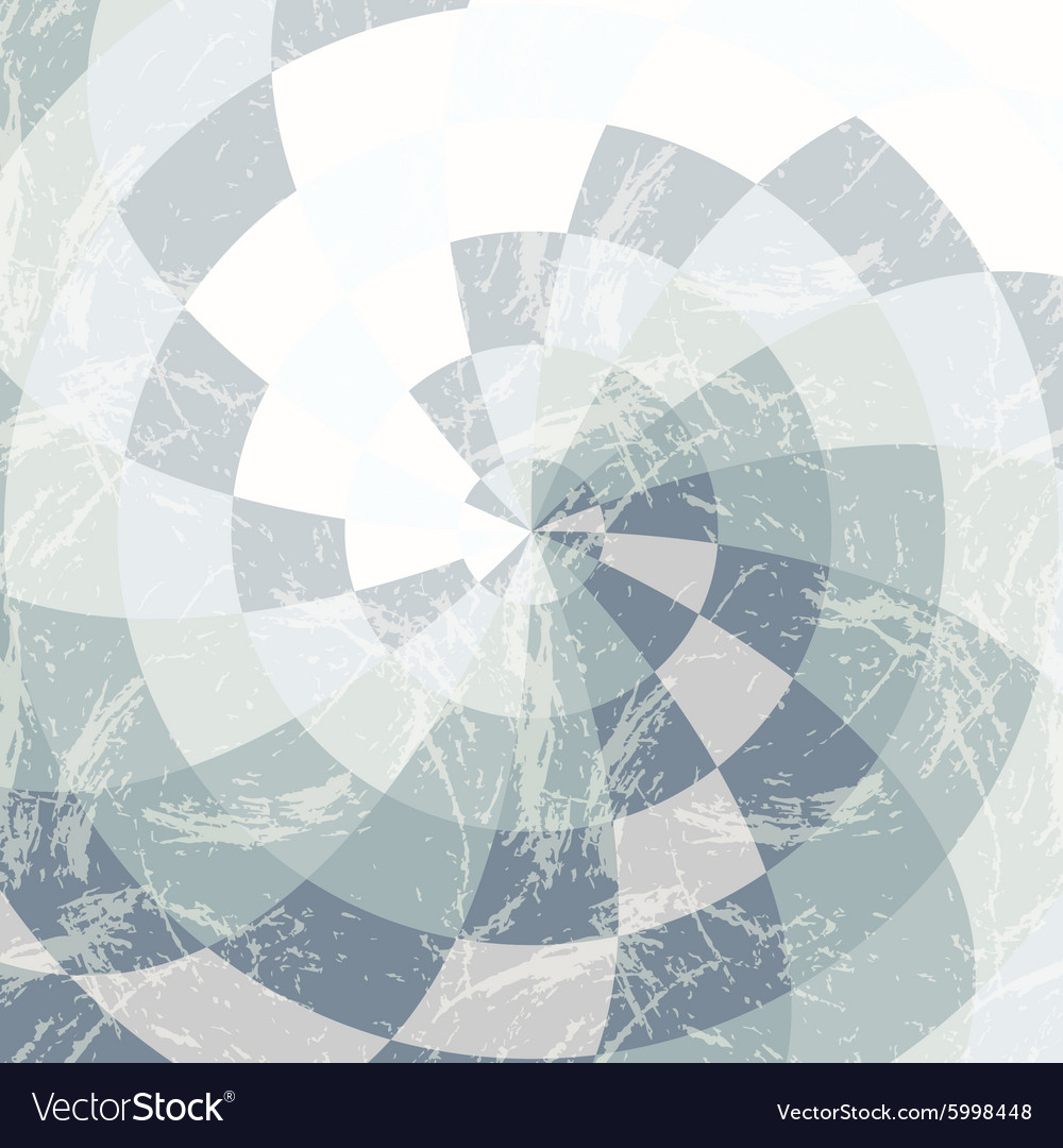 Background of radial cut dice vector image