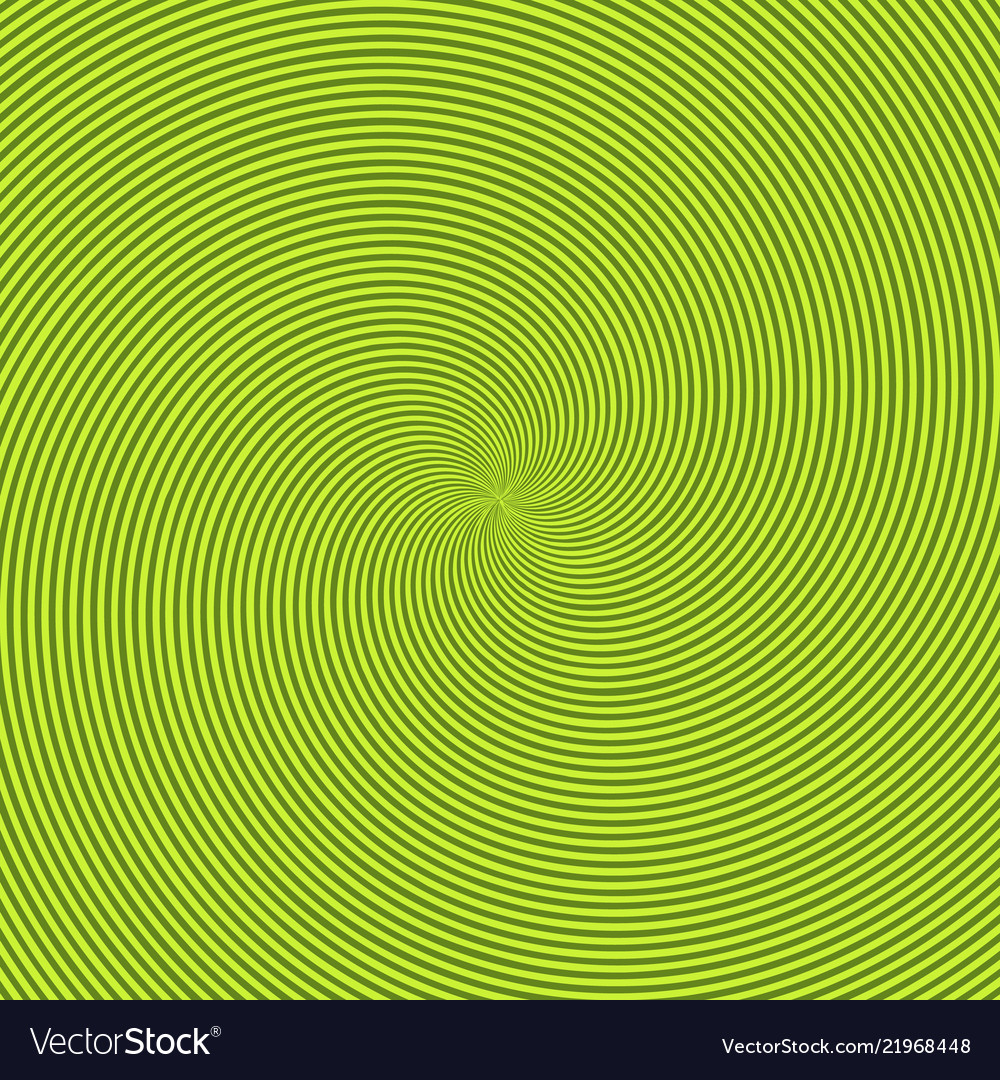 Green radiant background with circular swirl