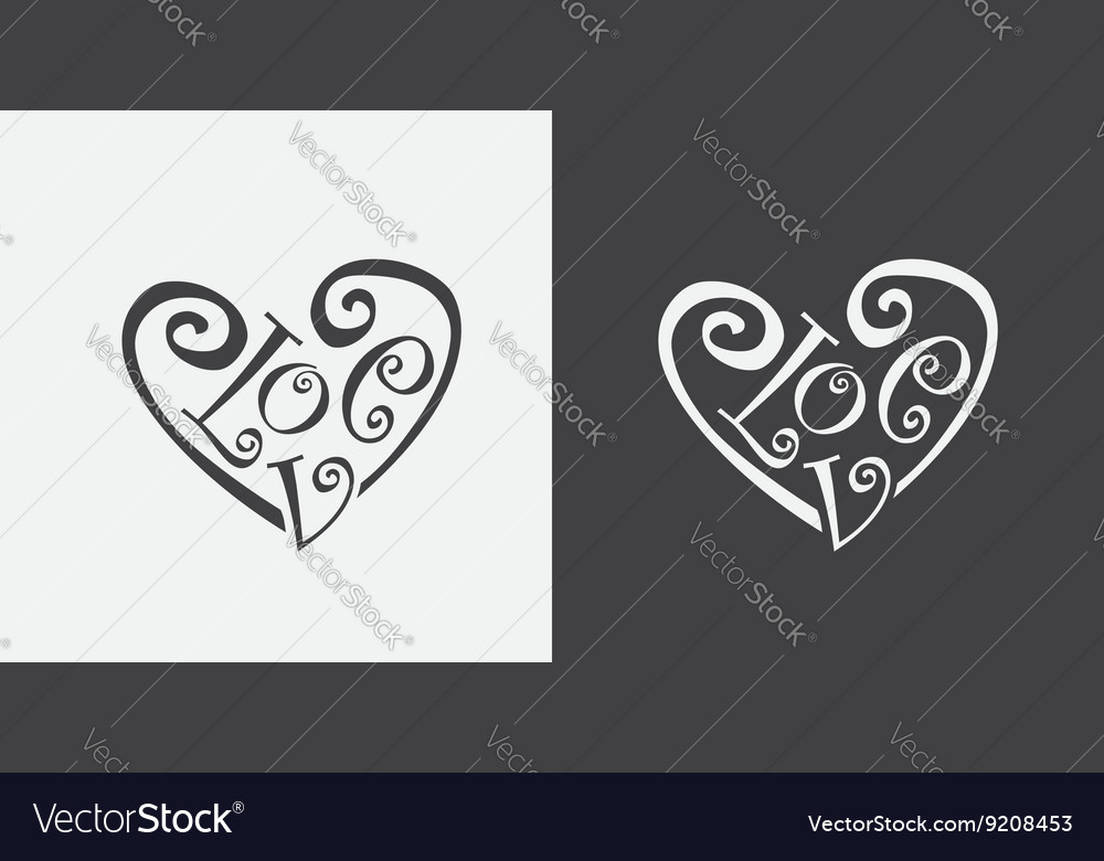 Meaning Of Heart Royalty Free Vector Image Vectorstock