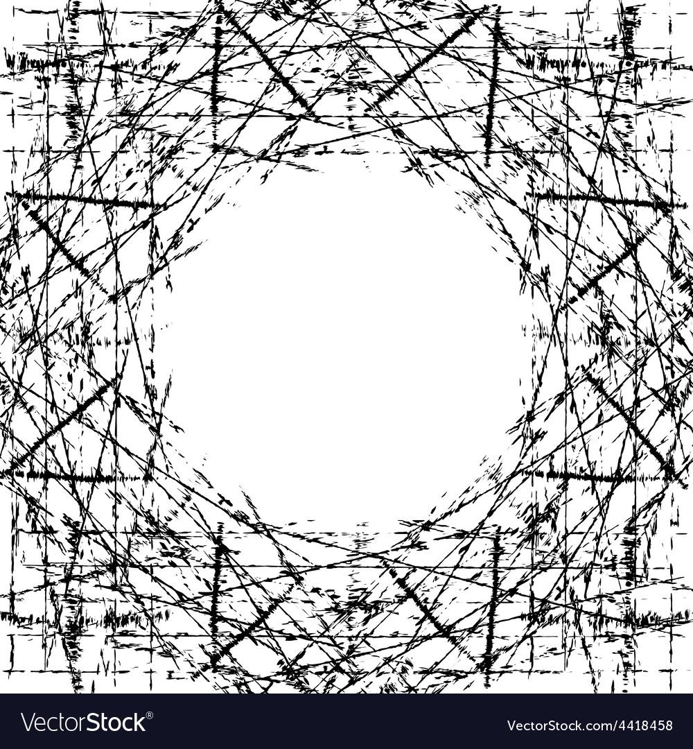 Background Scratched Frame