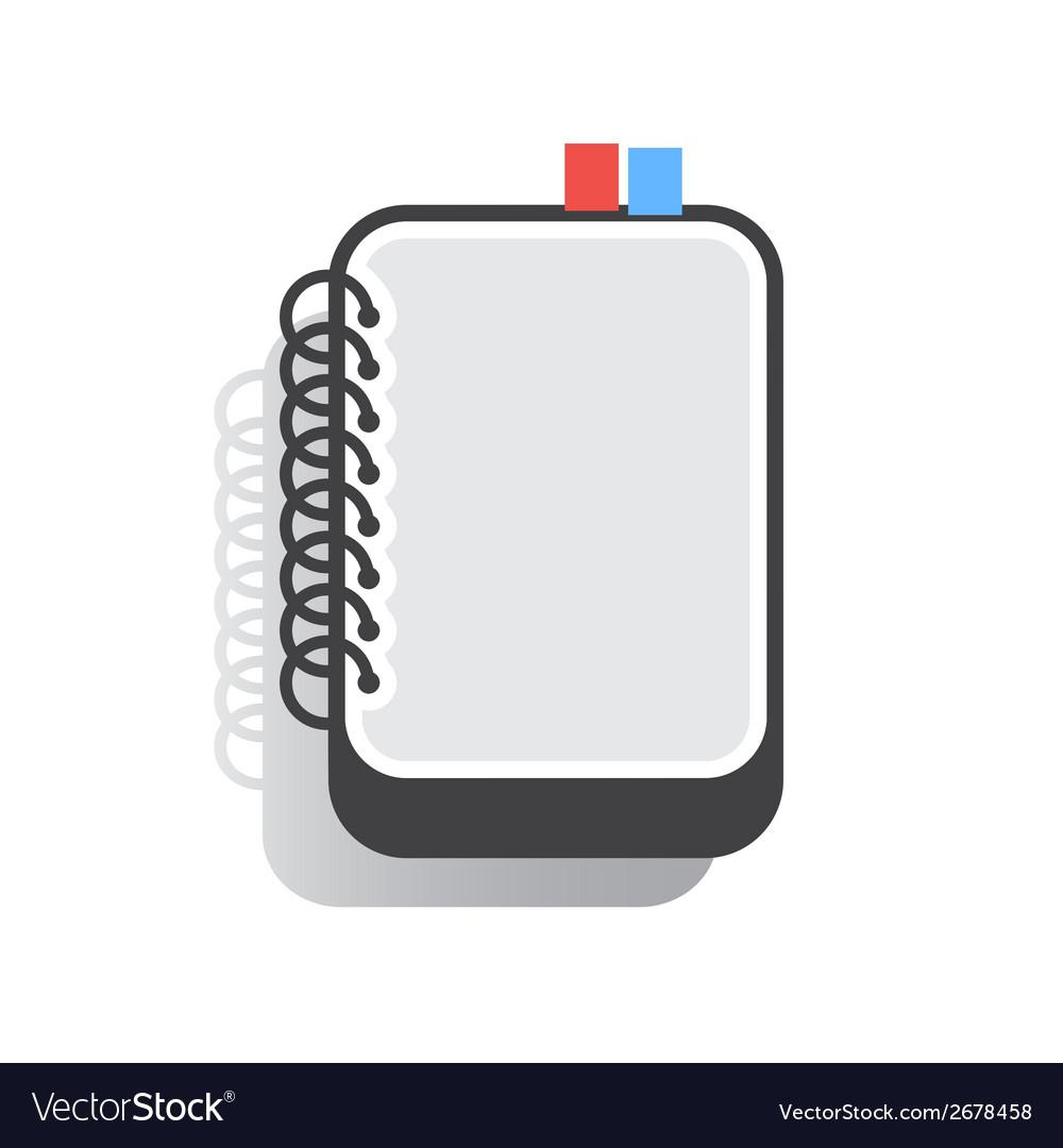 Notebook Flat