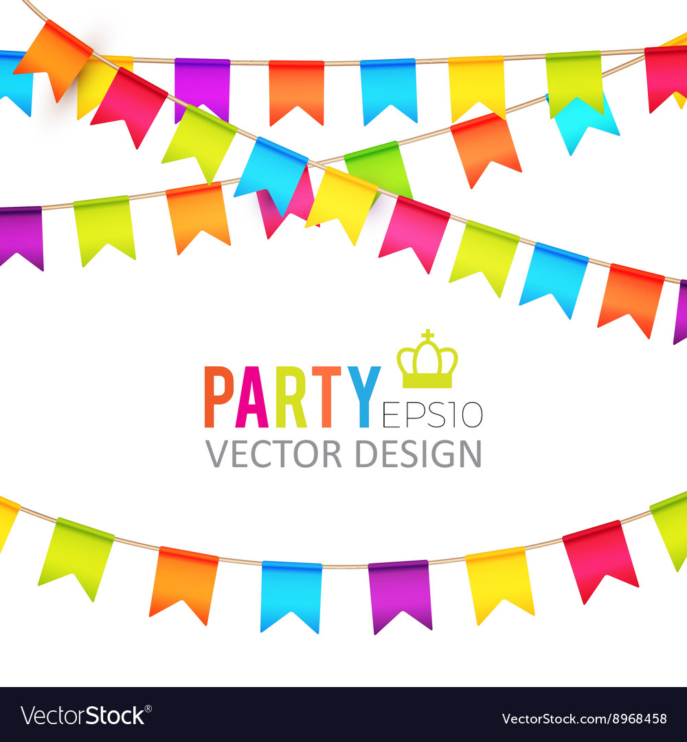 Party Flags Design with