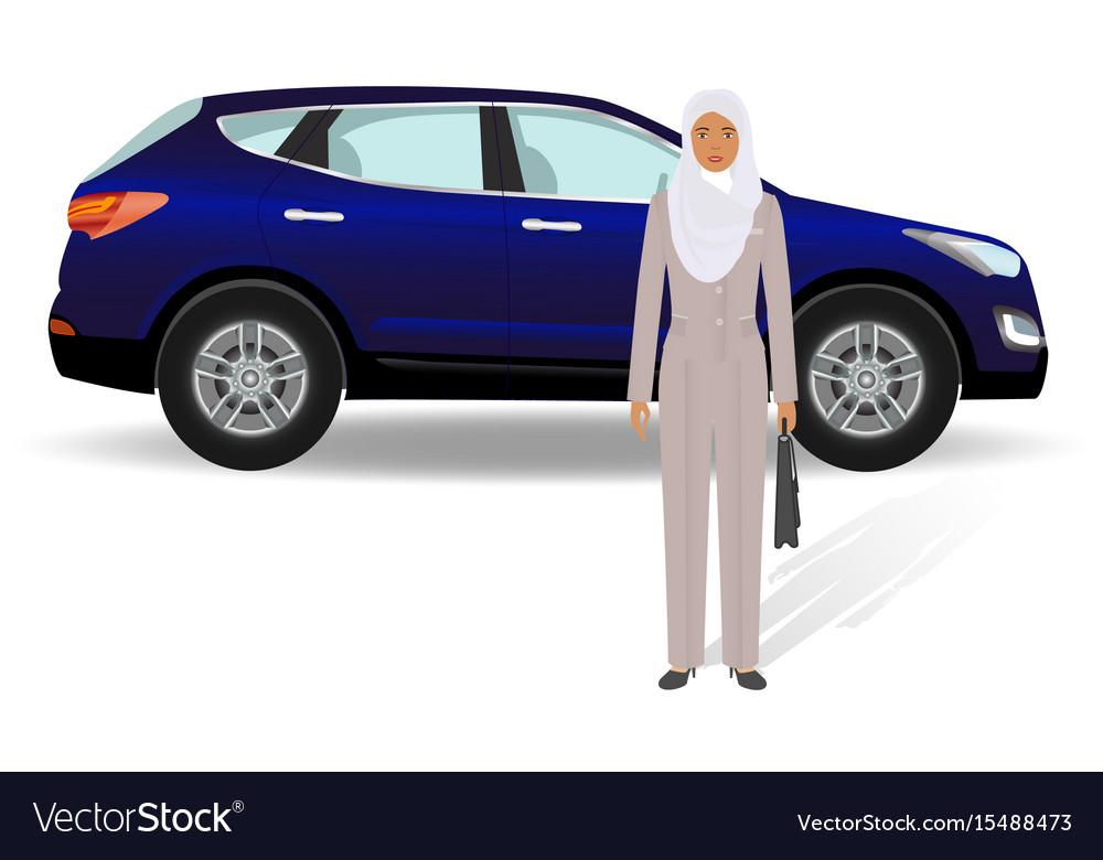 Business people concept arab businesswoman