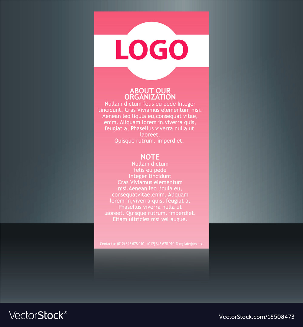 set flyer brochure size a4 templatebanner