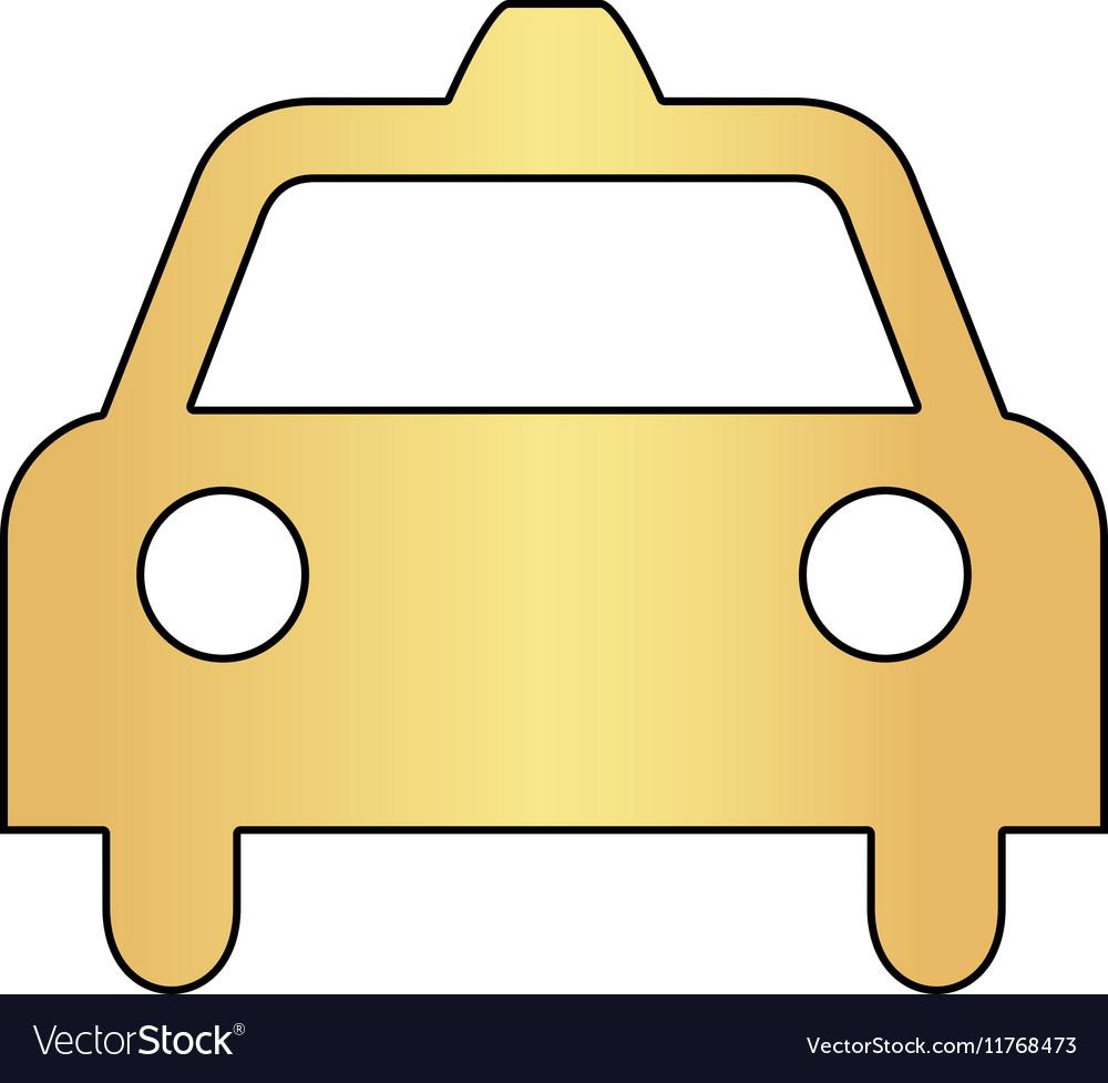 Taxi computer symbol