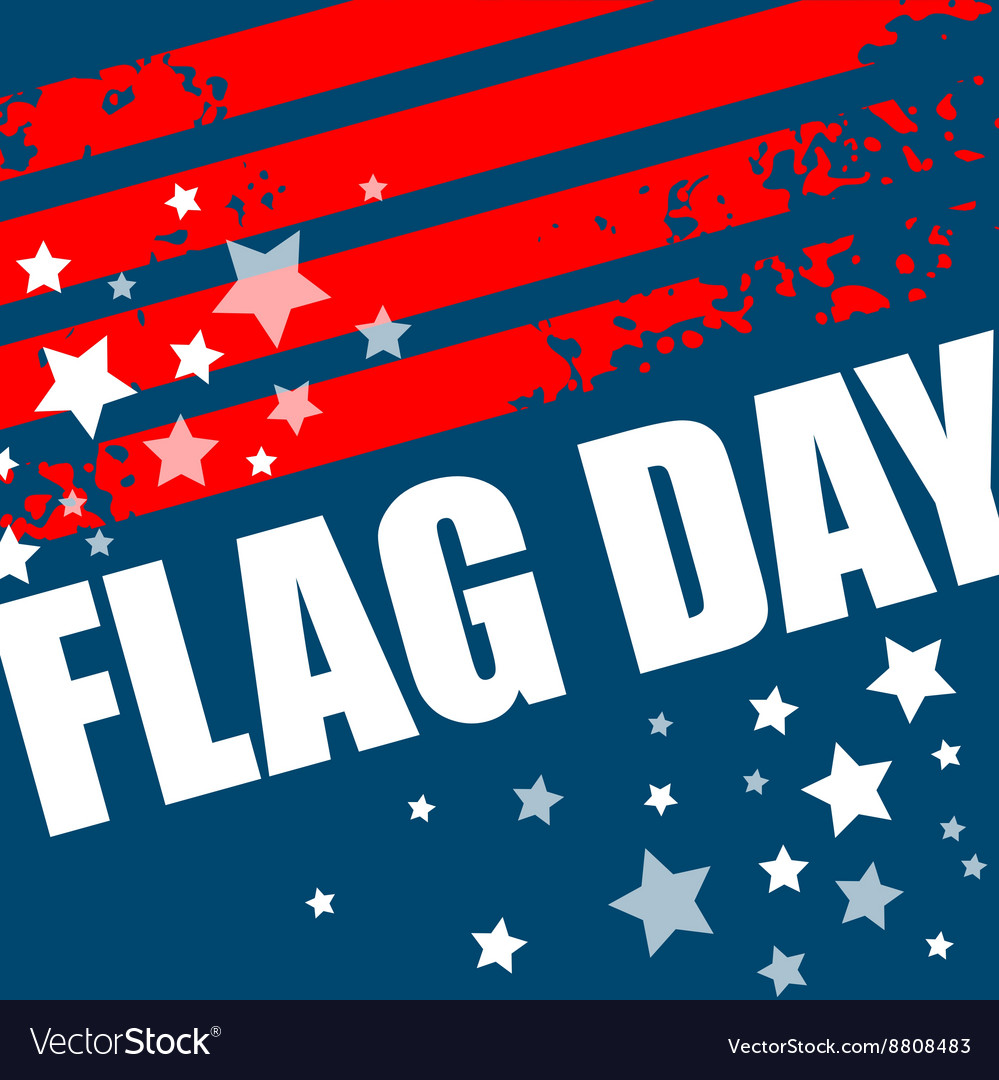 American Flag Day background design