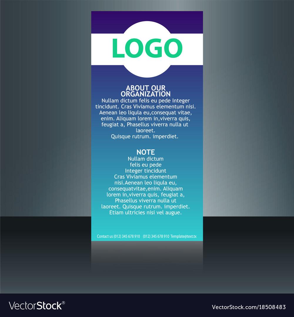 Medical brochure flyer design template a4 size