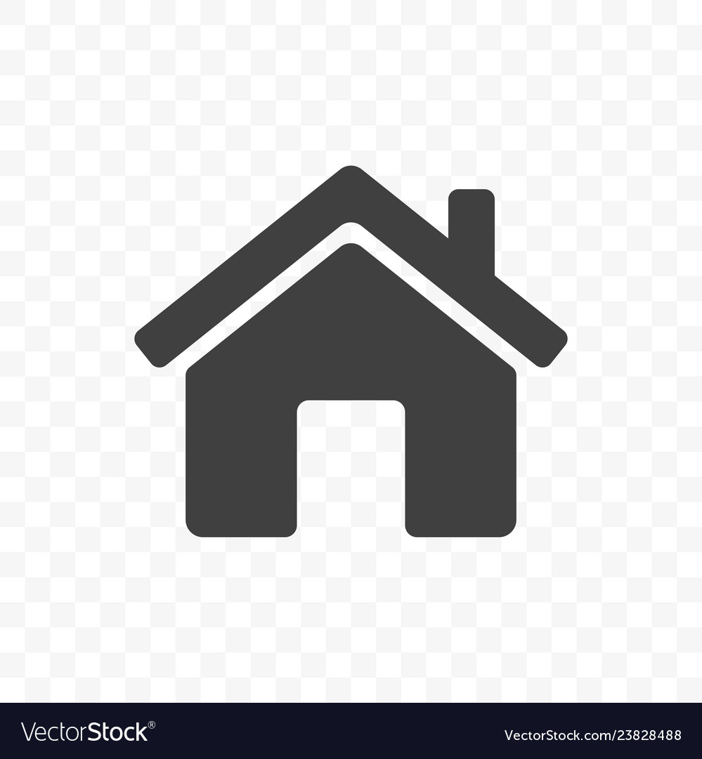 Home icon mobile app and web site start main page Vector Image