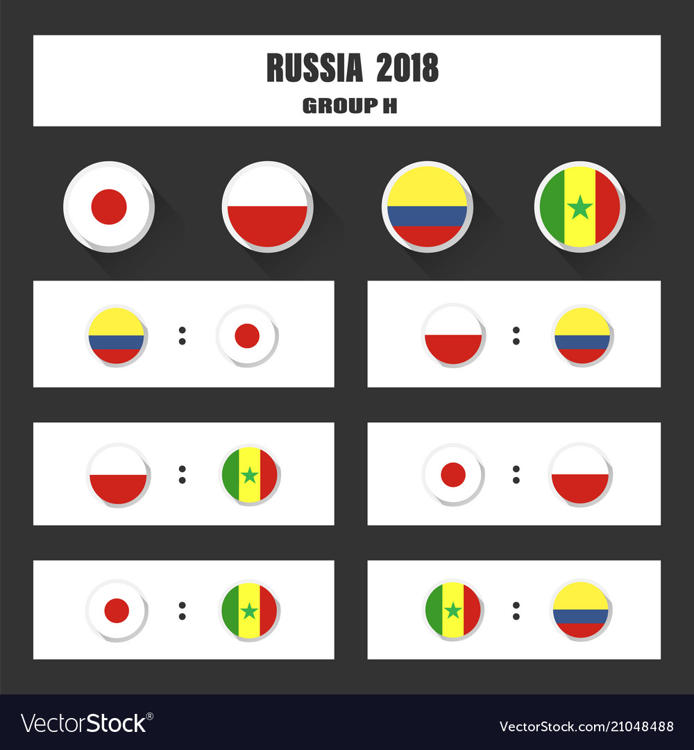 Match schedule 2018 final draw results table