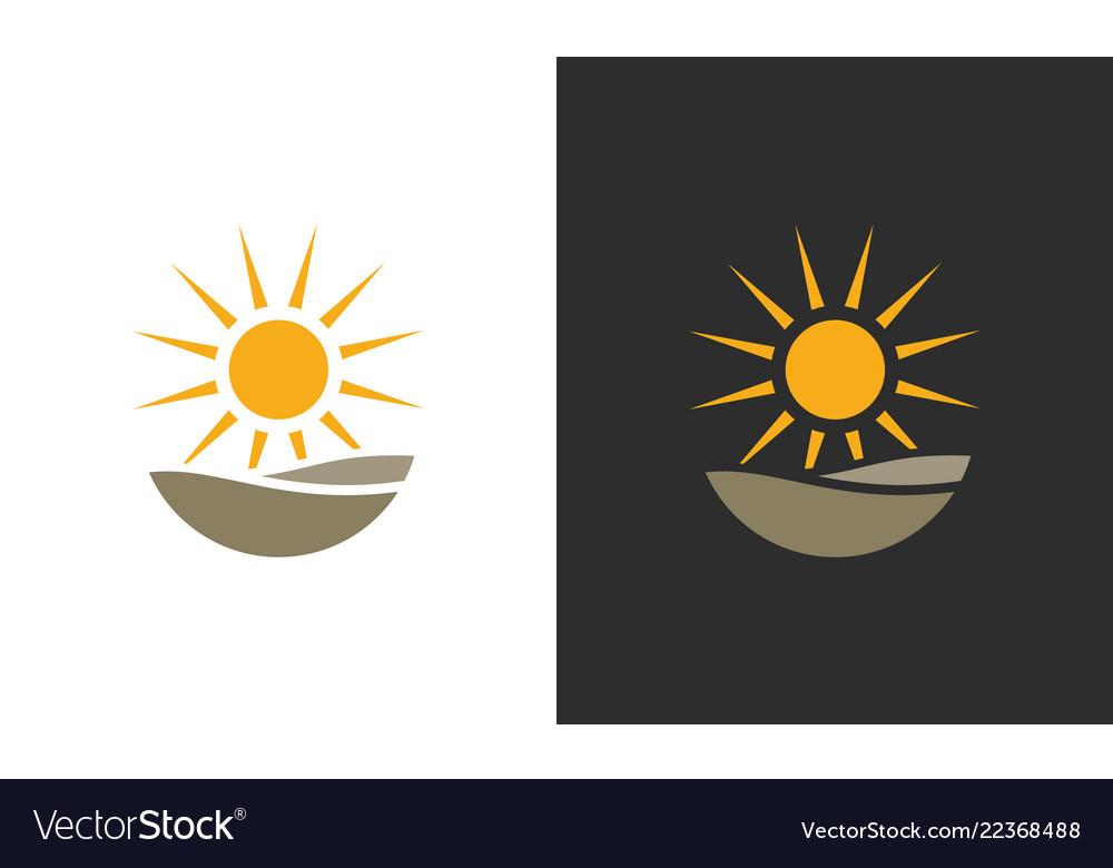 Sun organic logo