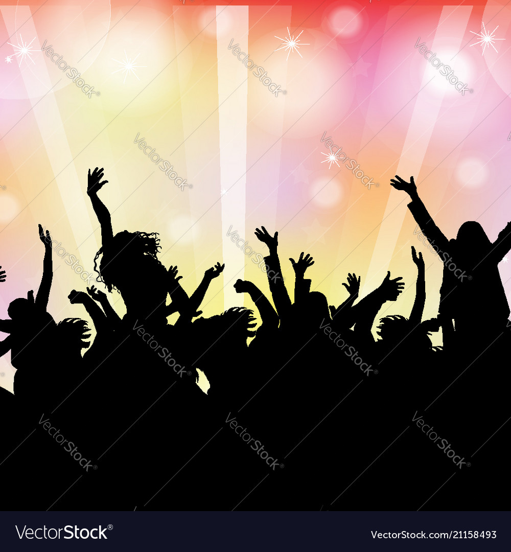 Dancing background