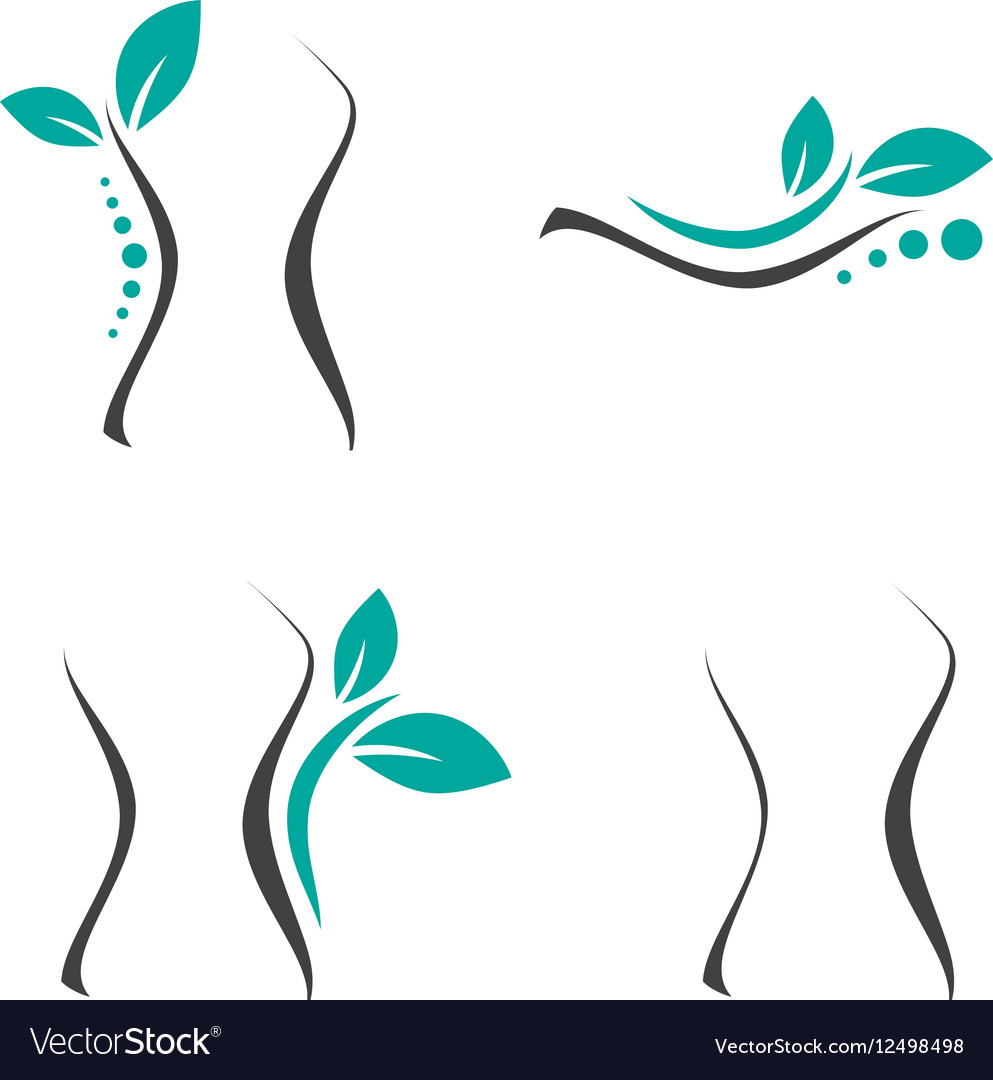 Woman Surgery and Chiropractic Logo