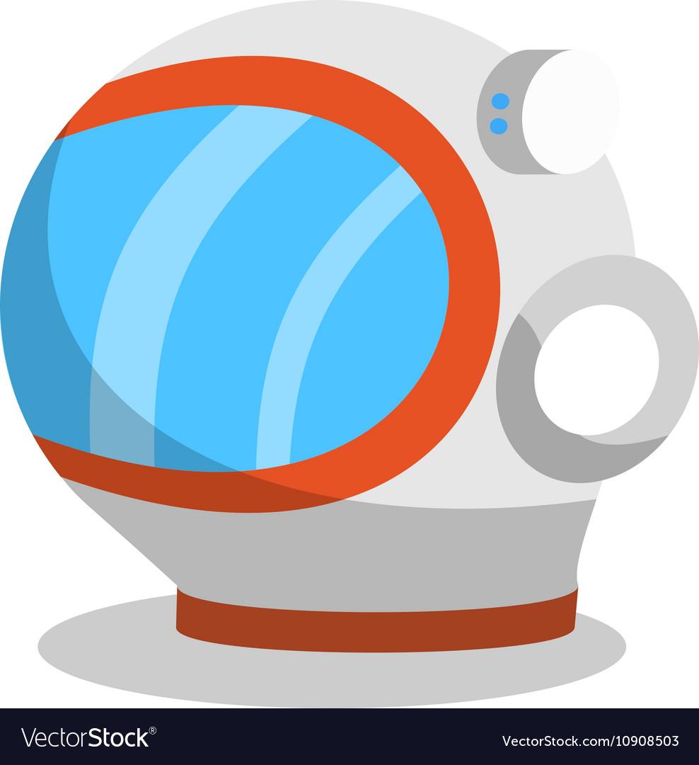 Astronaut flat icon